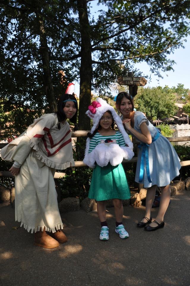 Pocahontas and friend.
